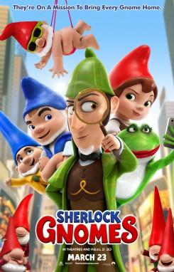 Sherlock Gnomes - Σέρλοκ Ζουμπόμς