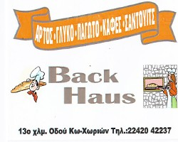 BACK HAUS