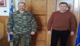 Επίσκεψη Διοικητή 80 ΑΔΤΕ στον Δήμαρχο Κω