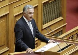 Παρέμβαση του Βουλευτή Δωδεκανήσου Βασίλη Α. Υψηλάντη στην Ολομέλεια της Βουλής στο ΝΣ για τη διευκόλυνση άσκησης του εκλογικού δικαιώματος από τους Έλληνες του εξωτερικού