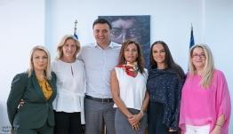 Δέσμευση του Υπουργού Υγείας Βασίλη Κικίλια για τη στήριξη του έργου της Europa Donna Hellas και την προώθηση των διεκδικήσεών της σε εθνικό επίπεδο στην πρόληψη & καταπολέμηση του καρκίνου του μαστού