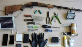 Βαριά οπλισμένος και επικίνδυνος ο «δράκος του κάβου» – Σοκαριστικά τα ευρήματα της αστυνομίας [εικόνες]