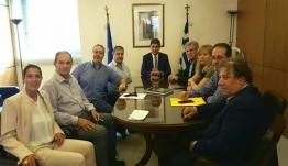 Συνάντηση Αυγενάκη με το Δ.Σ. των αθλητικών συντακτών