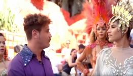 Ο χορός, η πρόταση γάμου και το πολυπόθητο στέμμα για τον Καλύμνιο Παντελή Βούρο στο τηλεοπτικό ταξιδιωτικό παιχνίδι «Globetrotters» (video)