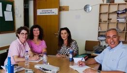 Συνάντηση εργασίας του Αντιπεριφερειάρχη  Παιδείας, Διά Βίου Μάθησης και Απασχόλησης κ. Γιάννη Κρητικού  στο ΓΕ.Λ. και στο Δημοτικό Σχολείου Ζηπαρίου Κω