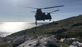 Έκτακτη άσκηση με σενάριο ανακατάληψης νησιού στο Αιγαίο από τη Δύναμη Δέλτα