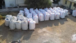 """ΚΩΣ: 9,8 τόνους πλαστικά καπάκια και χρήματα για το Σύλλογο Γονέων Κηδεμόνων και Φίλων Παιδιών με Ειδικές Ανάγκες της Νήσου Κω """"Ο ΣΩΤΗΡ"""""""