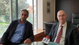 ΣΥΝΕΝΤΕΥΞΗ ΤΥΠΟΥ : Γιώργος – Σταύρος Κρεμλής Υποψήφιος Ευρωβουλευτής της ΝΔ/video