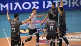 Θρίαμβος ΠΑΟΚ: νίκησε 3-1 τον ολυμπιακό και προκρίθηκε στον τελικό του κυπέλλου στο βόλεϊ