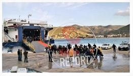 Ολοκληρώθηκε χθές η μεταφορά των μεταναστών που βρισκόντουσαν στην Κέα από τις 16 Μαρτίου.