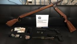 Συνελήφθη 44χρονος για κατοχή ναρκωτικών ουσιών και εκρηκτικών υλών στην Κάλυμνο