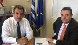 Συνάντηση Υφυπουργού Τουρισμού με τον διοικητή της 2ης ΥΠΕ, κ. Χρήστο Ροϊλό