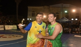 Ο Στεφανίδης νικητής στο διαγωνισμό τριπόντων στο Galis Basketball 3on3