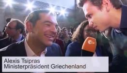 Γερμανός δημοσιογράφος προσβάλλει χυδαία την Ελλάδα και ο Τσίπρας γελάει αμήχανα(video)