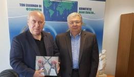 Συνάντηση του Γενικού Γραμματέα Αποδήμου Ελληνισμού, Γιάννη Χρυσουλάκη, με τον κ. Παναγιώτη Ματλή, Πρόεδρο της Ελληνικής Κοινότητας Βερολίνου
