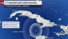 Θηριώδης σεισμός 7,7 ρίχτερ στην Καραϊβική -Αισθητός και στο Μαϊάμι