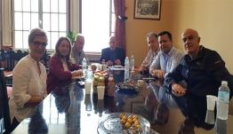 Εθιμοτυπική συνάντηση του ΔΣ της Ένωσης Ξενοδόχων Κω με τον νέο 'Επαρχο