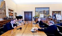 Συνάντηση εργασίας με τον Πρόεδρο της Aegean Airlines Ευτύχη Βασιλάκη