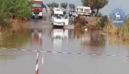 Παραλίγο τραγωδία με μίνι - βαν στην περιοχή Αφάντου