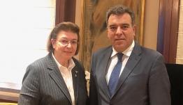 «Συνάντηση του Υφυπουργού Τουρισμού κ. Κόνσολα με την Υπουργό Πολιτισμού κα. Μενδώνη»