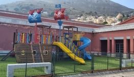 Τρεις νέες παιδικές χαρές στη Σύμη