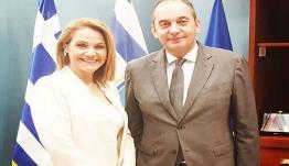 Συνάντηση Μίκας Ιατρίδη με τον Υπουργό Ναυτιλίας και Νησιωτικής Πολιτικής