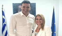 Μίκα Ιατρίδη: Συνάντηση με Υπουργό Υγείας για το ζήτημα της έλλειψης φαρμάκων για τους ογκολογικούς ασθενείς