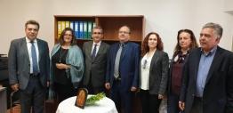 Εγκαινιάστηκε το νέο παράρτημα του Ινστιτούτου Βιώσιμης Κινητικότητας και Δικτύων Μεταφορών (ΙΜΕΤ) στο πλαίσιο του Μνημονίου Συνεργασίας με την ΠΝΑΙ
