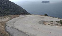 Ολοκληρώθηκε η τσιμεντόστρωση ενός μεγάλου τμήματος 1250 μέτρων του δρόμο προς το Σταυρό Νισύρου