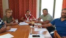 Συνάντηση εργασίας Ένωσης Ξενοδόχων Κω και Συνδέσμου ιδιοκτητών ΤΑΞΙ Κω