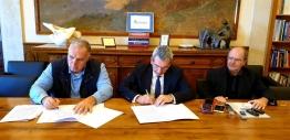 Υπογραφή Μνημονίου Συνεργασίας της Περιφέρειας Ν. Αιγαίου με φορείς του Πανεπιστημίου Δ. Αττικήςμε στόχο την μετατροπή μικρών νησιών του Ν. Αιγαίου σε έξυπνα νησιά