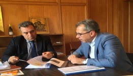 «Σειρά επαφών του Υφ. Τουρισμού, κ. Μάνου Κόνσολα, με στελέχη της αυτοδιοίκησης και του τουρισμού στην Πάτρα»
