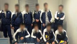 Αυτοί είναι οι Σύροι πρόσφυγες που παρίσταναν τους... Ουκρανούς βολεϊμπολίστες -Συνελήφθησαν στο «Ελ. Βενιζέλος»