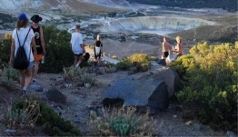 Ομάδα Άγγλων τουριστών έχασε τον προσανατολισμό της κατά τη διάρκεια πεζοπορίας σε υψώματα στο Βαθύ Καλύμνου και ζήτησε βοήθεια από το 112