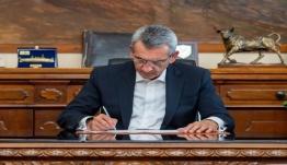 Υπεγράφη η σύμβαση με τον ανάδοχο για την αποκατάσταση τμήματος οδού από Γαϊδουρόραχο προς Μυρτιές Καλύμνου