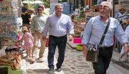 Περιοδεία του υποψήφιου περιφερειάρχη Ν. Αιγαίου Μανώλη Γλυνού σε Νίσυρο και Κω