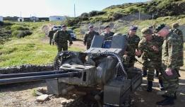 «Έφοδος» του Γενικού Επιθεωρητή Στρατού σε δυνάμεις και Μονάδες της ΑΣΔΕΝ (ΦΩΤΟ)