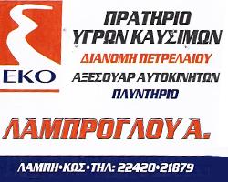 ΕΚΟ - ΛΑΜΠΡΟΓΛΟΥ ΑΝΑΣΤΑΣΙΑ