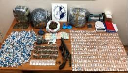 Σοκάρουν οι ποσότητες και τα είδη ναρκωτικών που διακινούσε σπείρα γύρω από την ΑΣΟΕΕ (vid)