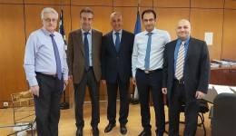 Συνάντηση εργασίας του Αντιπεριφερειάρχη Παιδείας,  Γιάννη Κρητικού με τον Διευθύνοντα Σύμβουλο της ΚΤ.ΥΠ. Α.Ε. Αθανάσιο Γιάνναρη