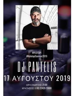 Ο Remix Master Dj Pantelis στο Mylotopi Summer 2019